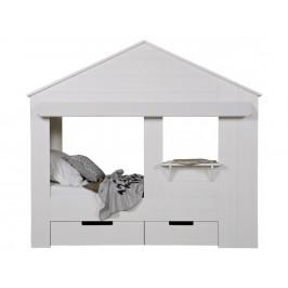 Hoorns Bílá dětská postel Nuk