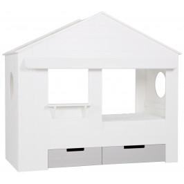 Hoorns Set bílých zásuvek k dětské posteli Nuk