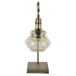 Hoorns Kouřová mosazná stolní lampa Brend
