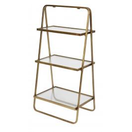 Hoorns Zlatý designový regál Antique