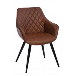 Culty Designová židle Rox, světle hnědá