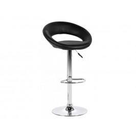 SCANDI Černá barová židle Sunny