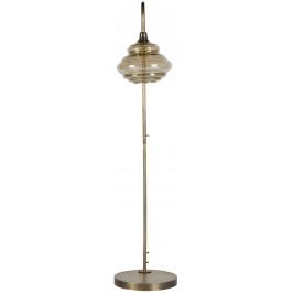 Hoorns Kouřová mosazná stojací lampa Brend
