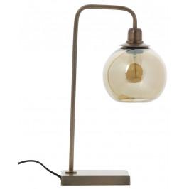Hoorns Mosazná stolní lampa Ellios