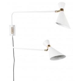 Bílé nástěnné světlo ZUIVER SHADY DOUBLE