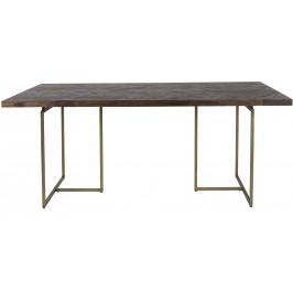 Hnědý jídelní stůl DUTCHBONE Class 180x90 cm