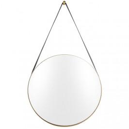 Time for home Zlaté závěsné zrcadlo Grimo 47 cm