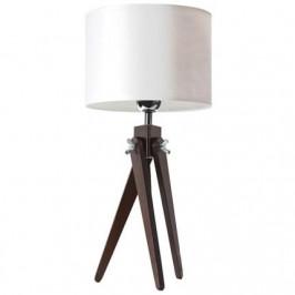 Lifelight Stolní lampa LF 16, ořechová podnož
