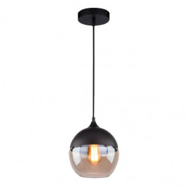 Culty Závěsné světlo Prion Globe v provedení černá a jantarová