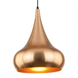 Culty Zlaté kovové závěsné světlo Glamour