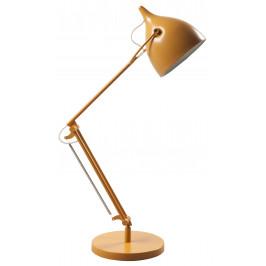Žlutá kovová stolní lampa ZUIVER READER