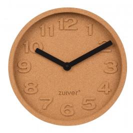 Nástěnné korkové hodiny ZUIVER CORK TIME