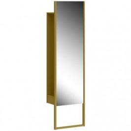 Stojací zrcadlo se skříní Germania 2406 MONTEO,olivově žlutá