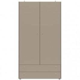 Šatní skříň Germania 2409 MONTEO 196 cm, šedá