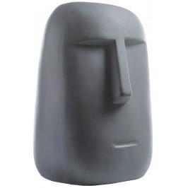 Tmavě šedá soška LaForma Levin 47 cm