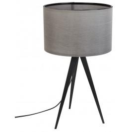 Stolní lampa ZUIVER TRIPOD, černá/šedá