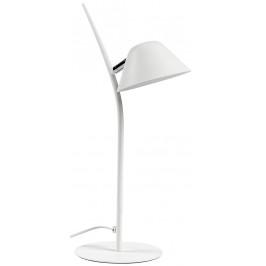 Bílá kovová stolní lampa LaForma Mysti
