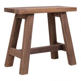 Nordic Living Dřevěná lavice Balt 50 cm