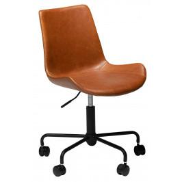 DAN-FORM Světle hnědá kancelářská židle DanForm Hype