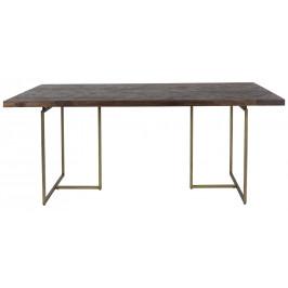 Hnědý jídelní stůl DUTCHBONE CLASS 220x90 cm