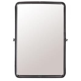 Černé závěsné zrcadlo DUTCHBONE Poke L