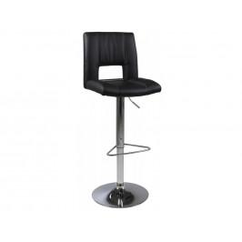 SCANDI Černá barová židle Richie