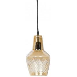 Hoorns Mosazné závěsné světlo Mada 15 cm