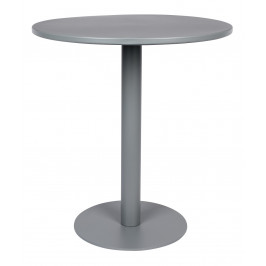 Šedý bistro stůl ZUIVER METSU 76 cm