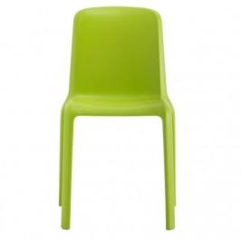 Pedrali Zářivě zelená jídelní židle Snow 300