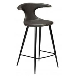 DAN-FORM Vintage šedá barová židle DanForm Flair 90 cm