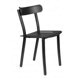 Černá zahradní židle ZUIVER FRIDAY