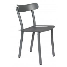 Šedá zahradní židle ZUIVER FRIDAY