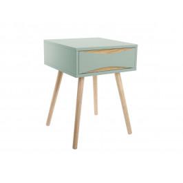 Time for home Mentolově zelený noční stolek Valentino I.