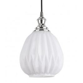Time for home Opálově bílé závěsné světlo Adrianna