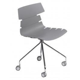 Culty Šedá kancelářská židle Matteo