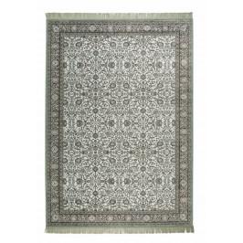 White Label Living Zelený vzorovaný koberec WLL BO 160x230 cm