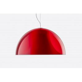 Červené závěsné světlo Pedrali L002S/BA 52 cm