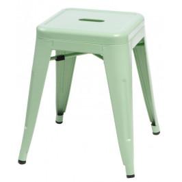Culty Zelená celokovová stolička Tolix 46