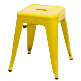 Culty Žlutá celokovová stolička Tolix 46