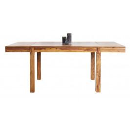 Moebel Living Sheeshamový rozkládací jídelní stůl Aspen 120–200 cm