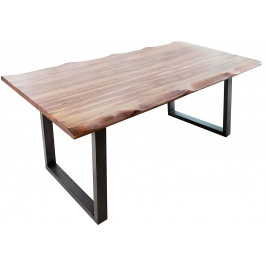 Moebel Living Masivní akátový jídelní stůl Giada 200x100 cm