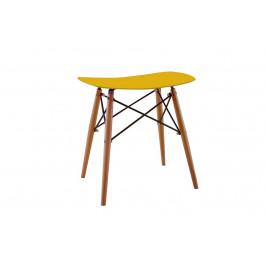 Culty Gold Limetková plastová stolička DSW