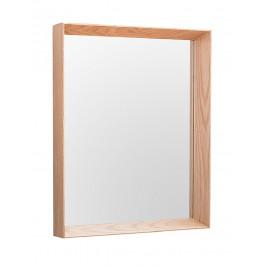 Moebel Living Závěsné masivní obdelníkové zrcadlo Nare