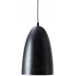 Moebel Living Černé závěsné světlo Star 20 cm