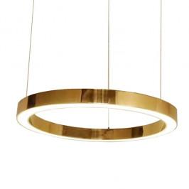 Culty Gold Mosazné závěsné světlo Edeon 80 cm