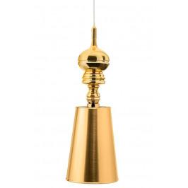 Culty Gold Zlaté závěsné světlo Elegance 18