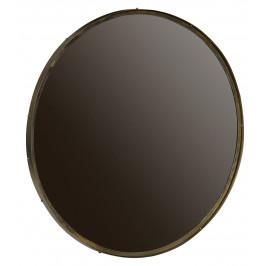 Hoorns Zlaté kovové kulaté zrcadlo Antique 100 cm