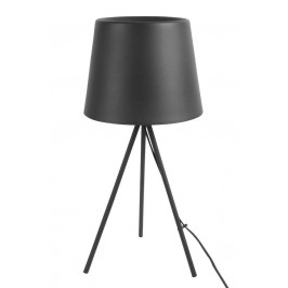 Time for home Černá kovová stolní lampa Vois
