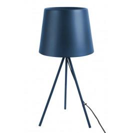 Time for home Tmavě modrá kovová stolní lampa Vois