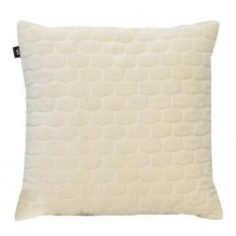 Time for home Krémově bílý sametový polštář Paddy 35x35 cm